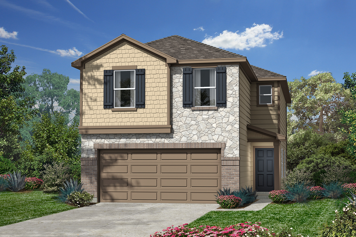 New Homes in San Antonio, TX - Plan 1930 E