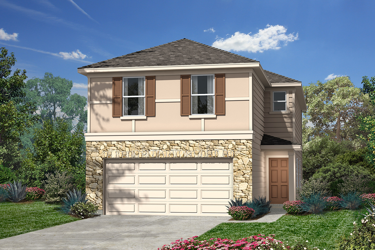 New Homes in San Antonio, TX - 5911 Eckhert Elevation F