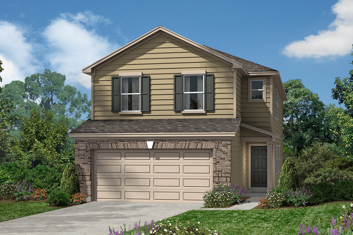New Homes in San Antonio, TX - The 2080 D