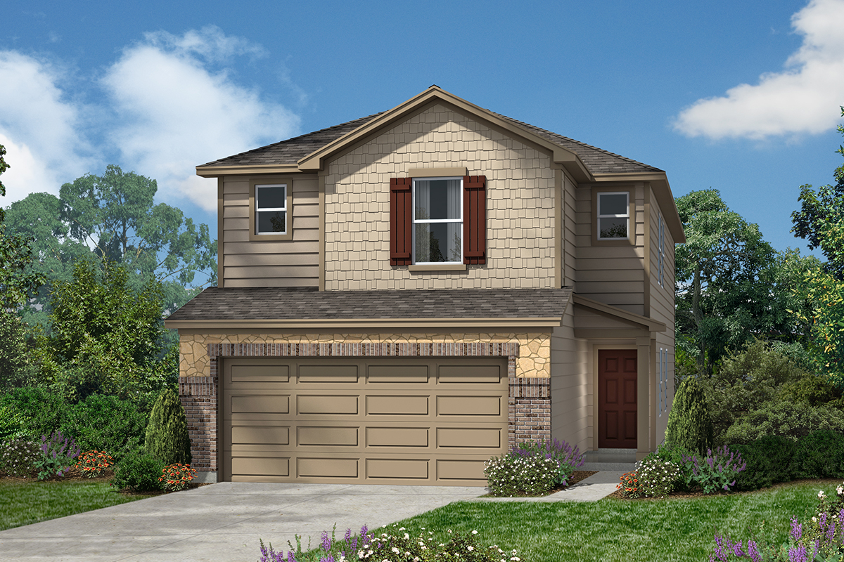 New Homes in San Antonio, TX - 5911 Eckhert Elevation E
