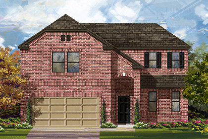 New Homes in Boerne, TX - Plan 2502 B