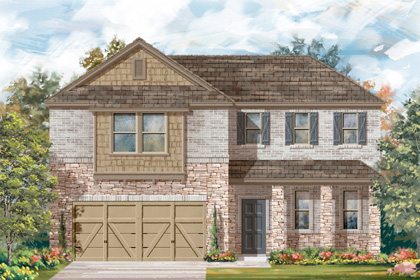 New Homes in Boerne, TX - Plan 2502 C