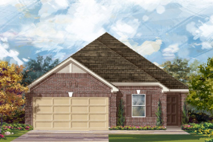 New Homes in San Antonio, TX - Plan 1892 B