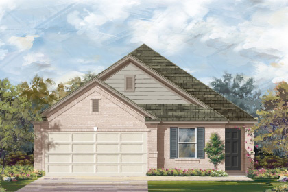 New Homes in San Antonio, TX - Plan 1892 C
