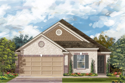 New Homes in San Antonio, TX - Plan 1892 D