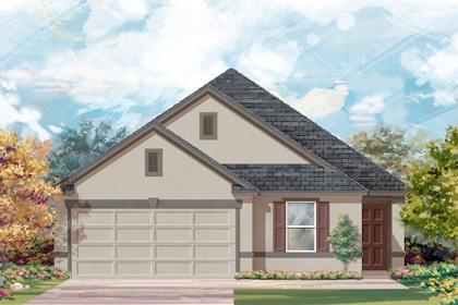 New Homes in San Antonio, TX - Plan 1892 E