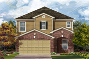New KB Home built-to-order homes available at CrossCreek - Sterling Collection in San Antonio, TX. Plan 2411 Modeled is one of many floor plans to choose from.
