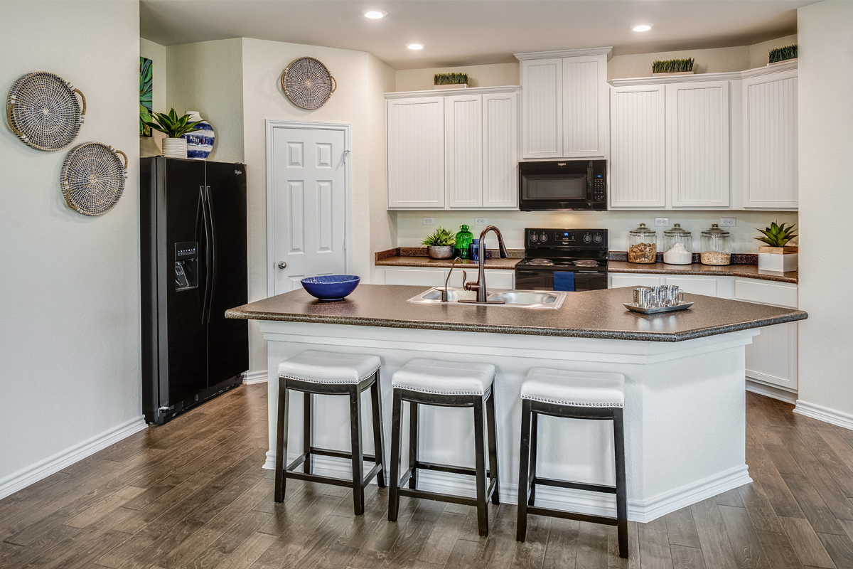 New Homes in New Braunfels, TX - Heritage Park The 1694 Kitchen