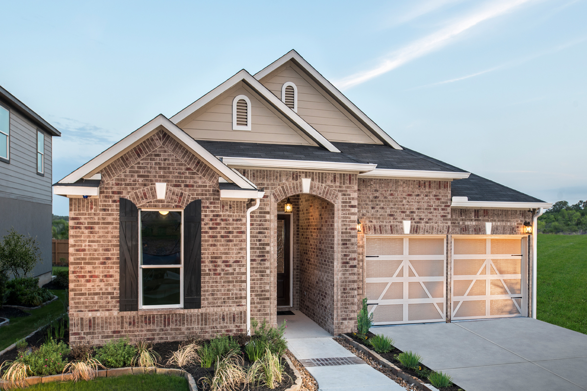 New Homes in San Antonio, TX - Hidden Bluffs at TRP Plan 2004