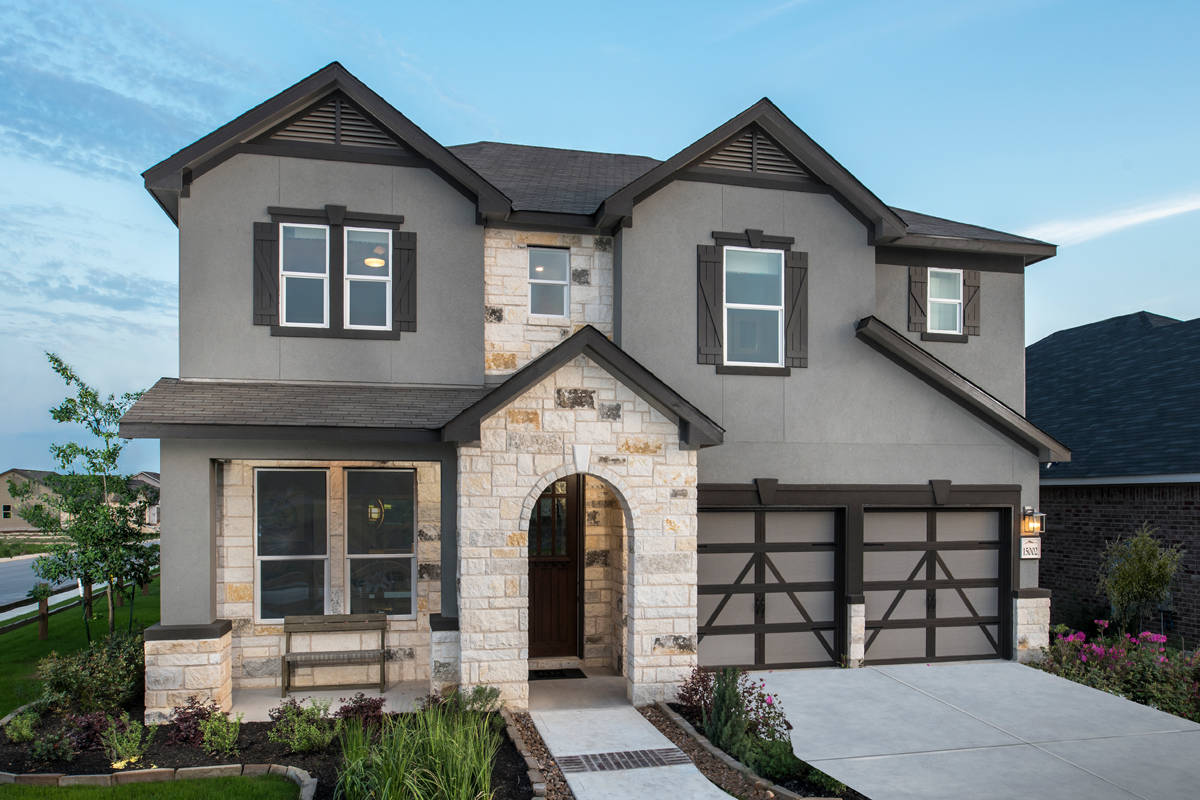Plan 2183 New Home Floor Plan In Hidden Bluffs At Trp By Kb Home