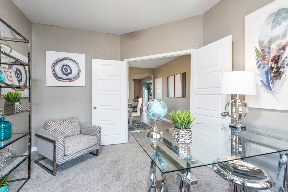 New Homes in San Antonio, TX - Hidden Bluffs at TRP The 2755 Study