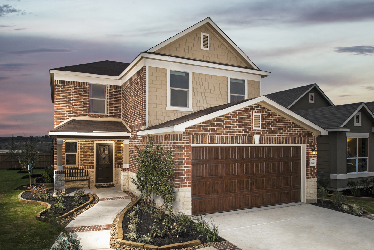 New Homes in San Antonio, TX - Hidden Canyons at TRP The 2239