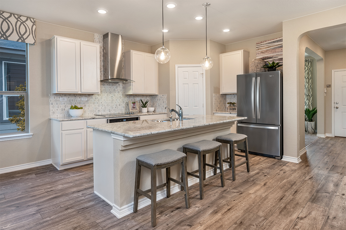 New Homes in Converse, TX - Knox Ridge The 2700 Kitchen