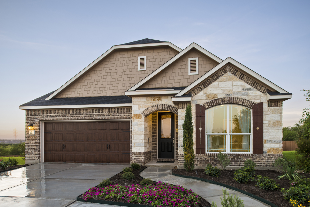 New Homes in San Antonio, TX - Canyon Crest Plan 2655