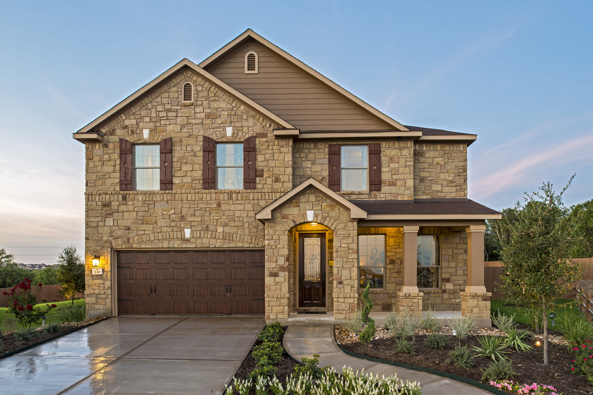 New Homes in Cibolo, TX - Landmark Pointe The 3125