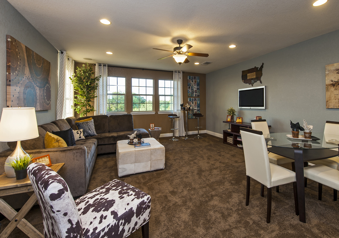 New Homes in Cibolo, TX - Landmark Pointe The 3125 Game Room