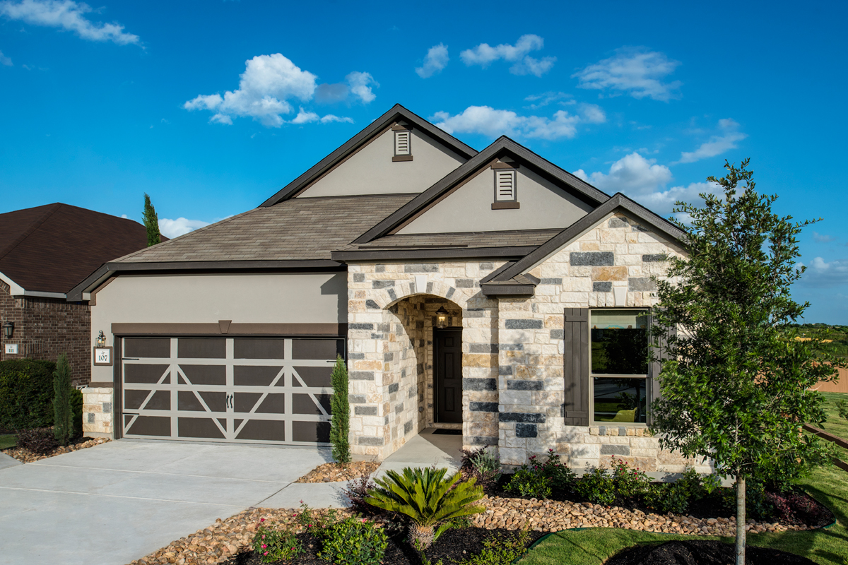 New Homes in New Braunfels, TX - Legend Point - The Reserves The 2004