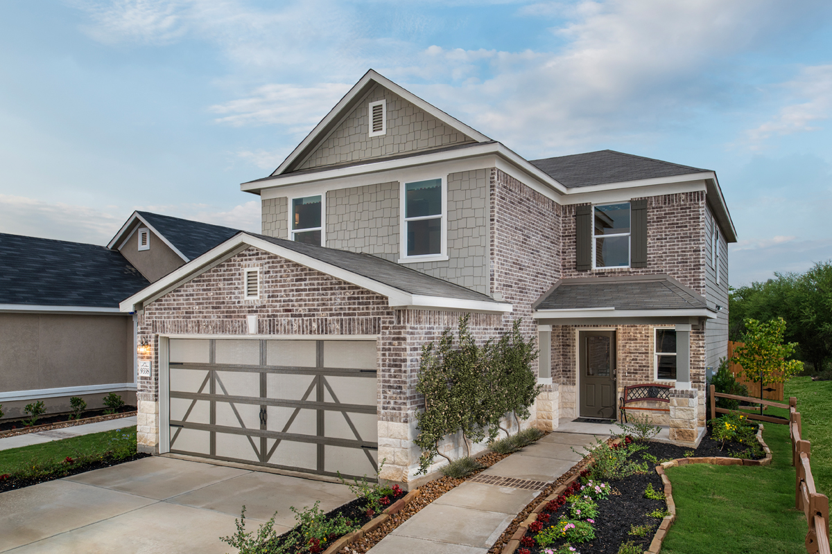 New Homes in San Antonio, TX - Loma Mesa The 2239