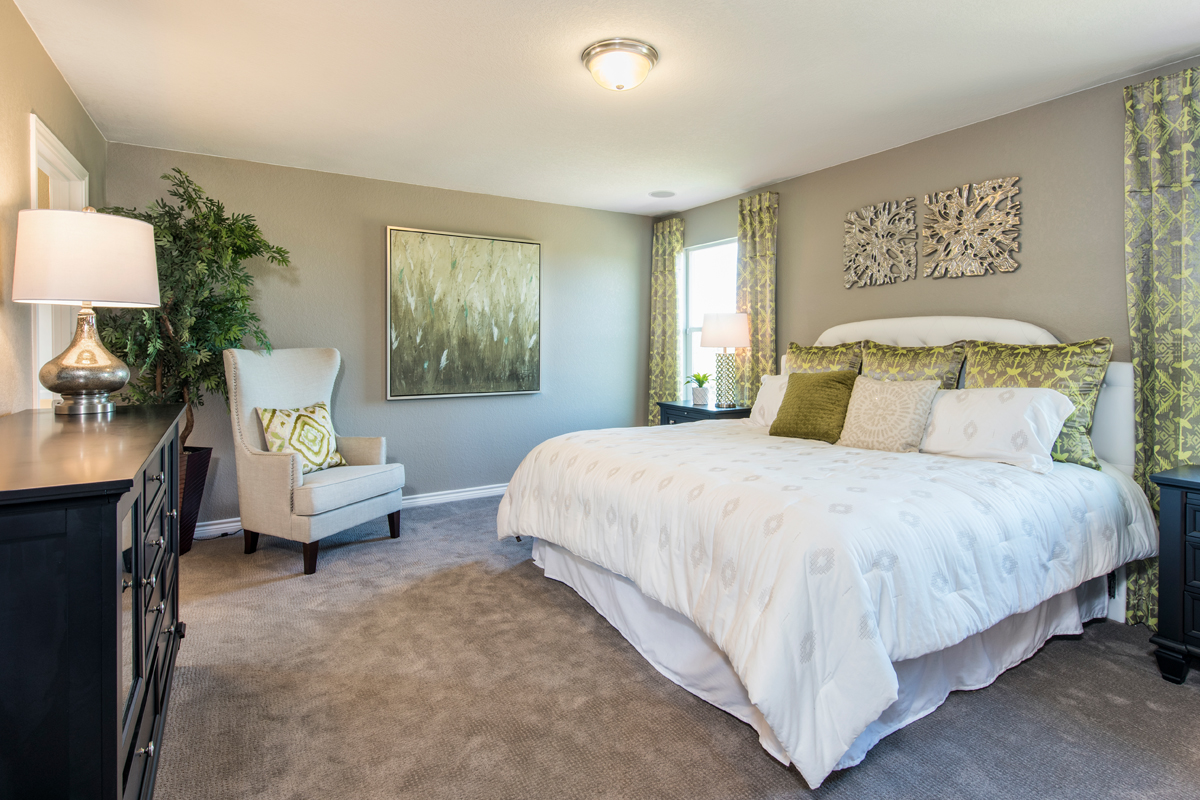 New Homes in San Antonio, TX - Loma Mesa The 2239 Master Bedroom