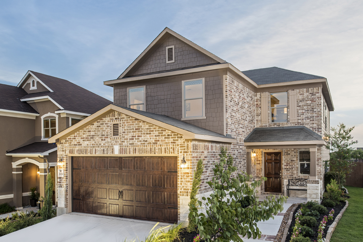 New Homes For Sale At Hidden Canyons At Trp In San Antonio