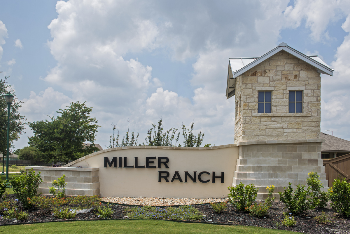 New Homes in San Antonio, TX - Miller Ranch Community Entry