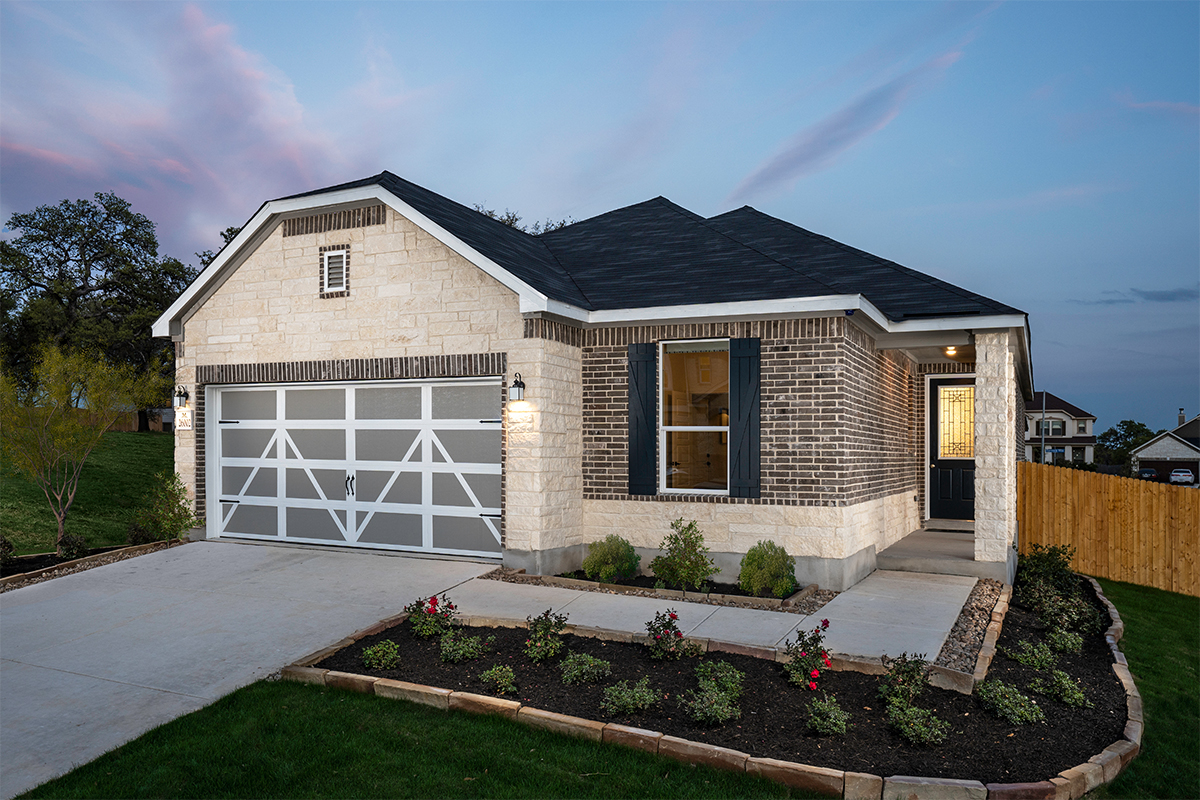 New Homes in Boerne, TX - Plan 1694 Modeled