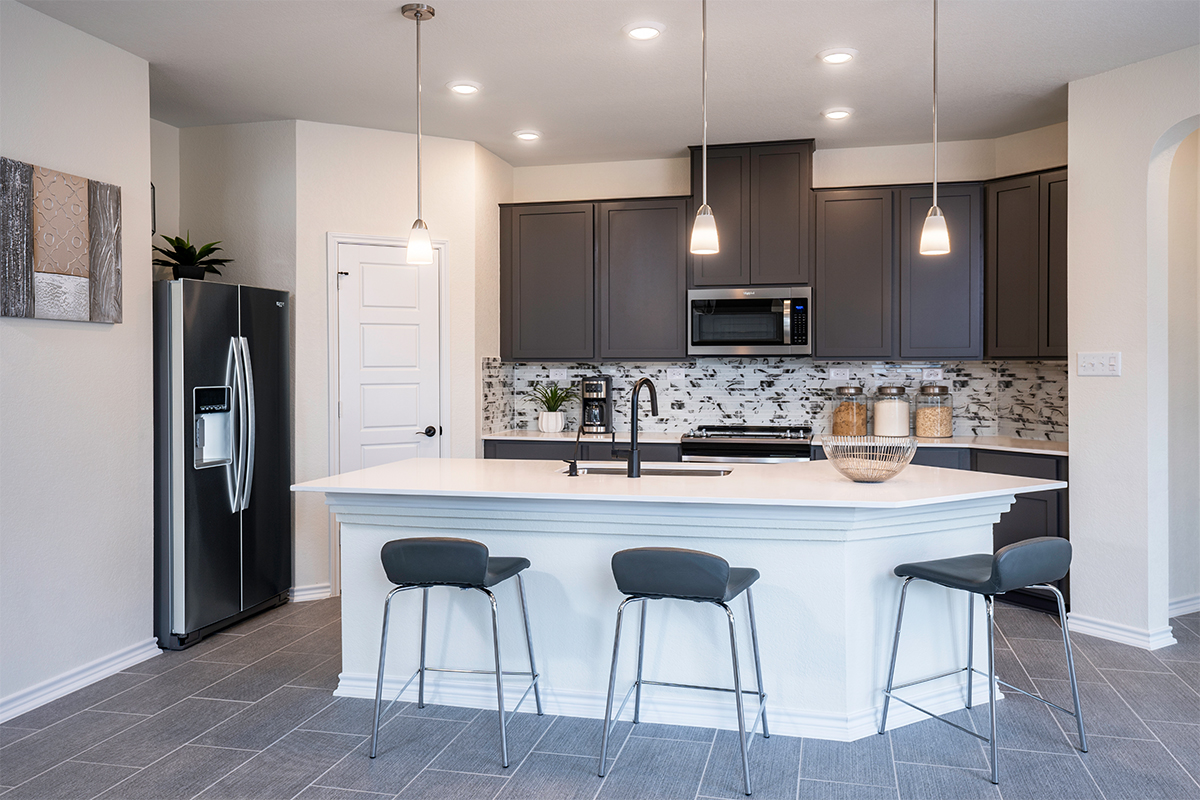 New Homes in Boerne, TX - Mirabel The 1694 Kitchen