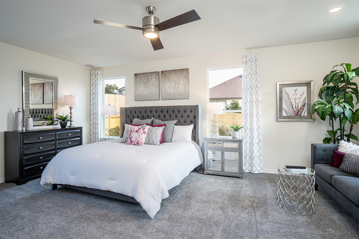 New Homes in Boerne, TX - Mirabel The 1694 Master Bedroom
