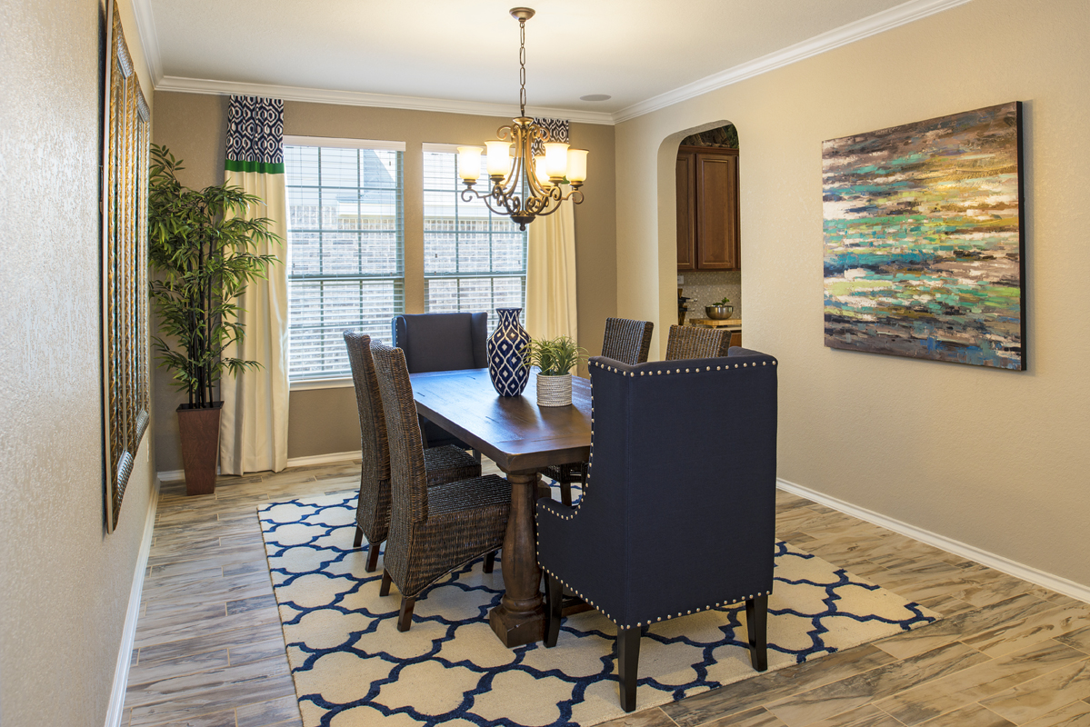 New Homes in Boerne, TX - Mirabel The 2382 Dining Room