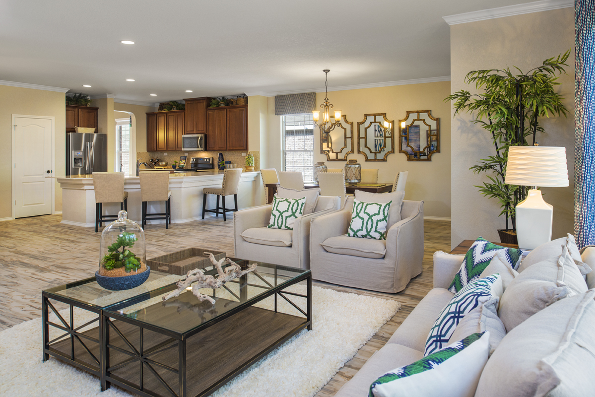 New Homes in Boerne, TX - Mirabel The 2382 Great Room