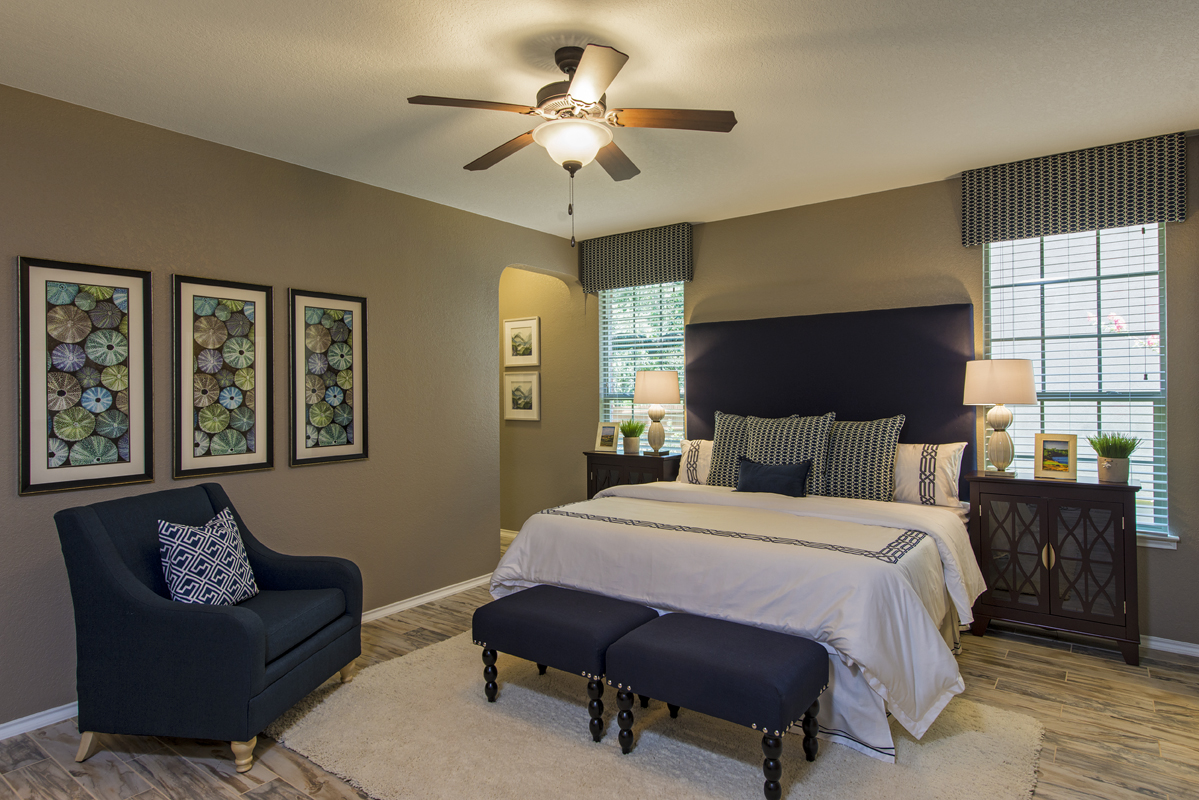 New Homes in Boerne, TX - Mirabel The 2382 Master Bedroom