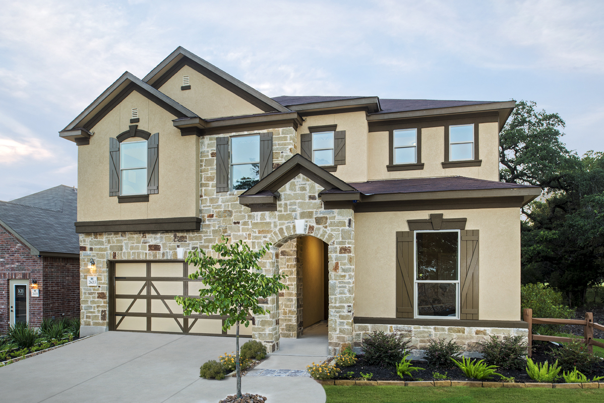 New Homes in Boerne, TX - Mirabel The 3475