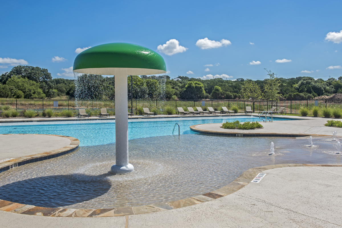 New Homes in Boerne, TX - Mirabel Community Amenity Center