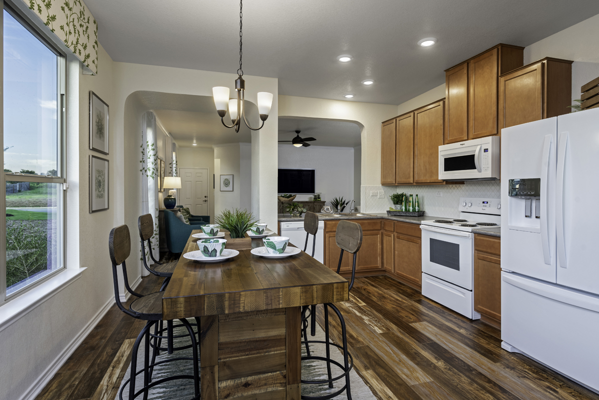 New Homes in San Antonio, TX - Northeast Crossing The 1516 Kitchen