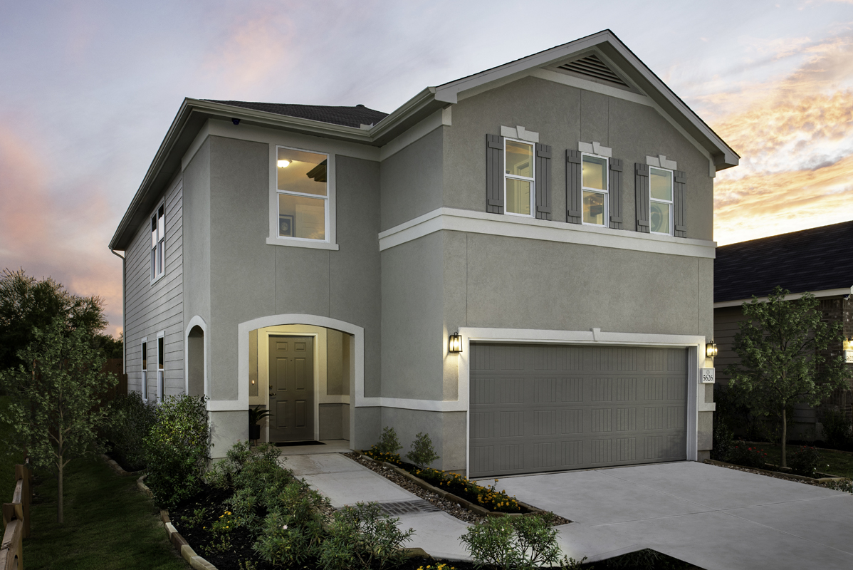 New Homes in New Braunfels, TX - Plan 2088 Modeled