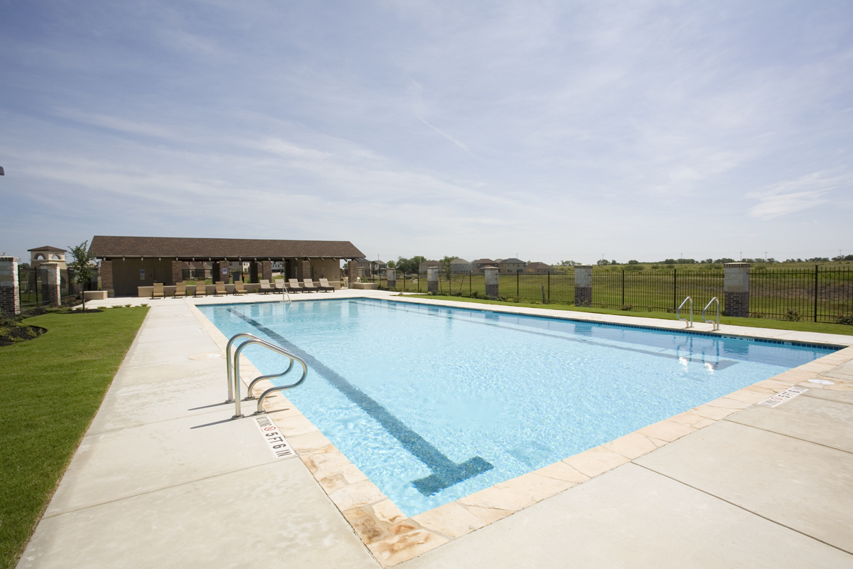 New Homes in New Braunfels, TX - Legend Point Legend Point Community Pool