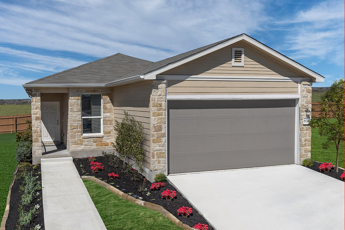 New Homes in Converse, TX - Plan 1417 Modeled