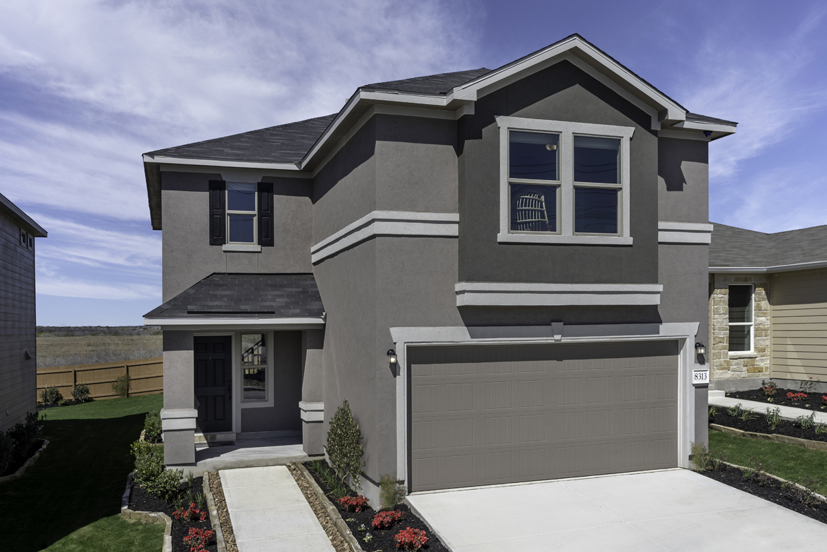 Plan 1772 Modeled New Home Floor Plan In Sky View By Kb Home