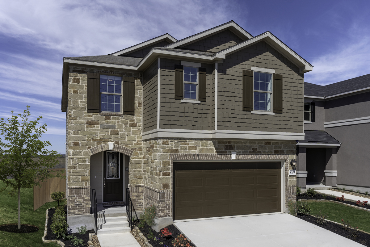 New Homes in Converse, TX - Plan 2088 Modeled