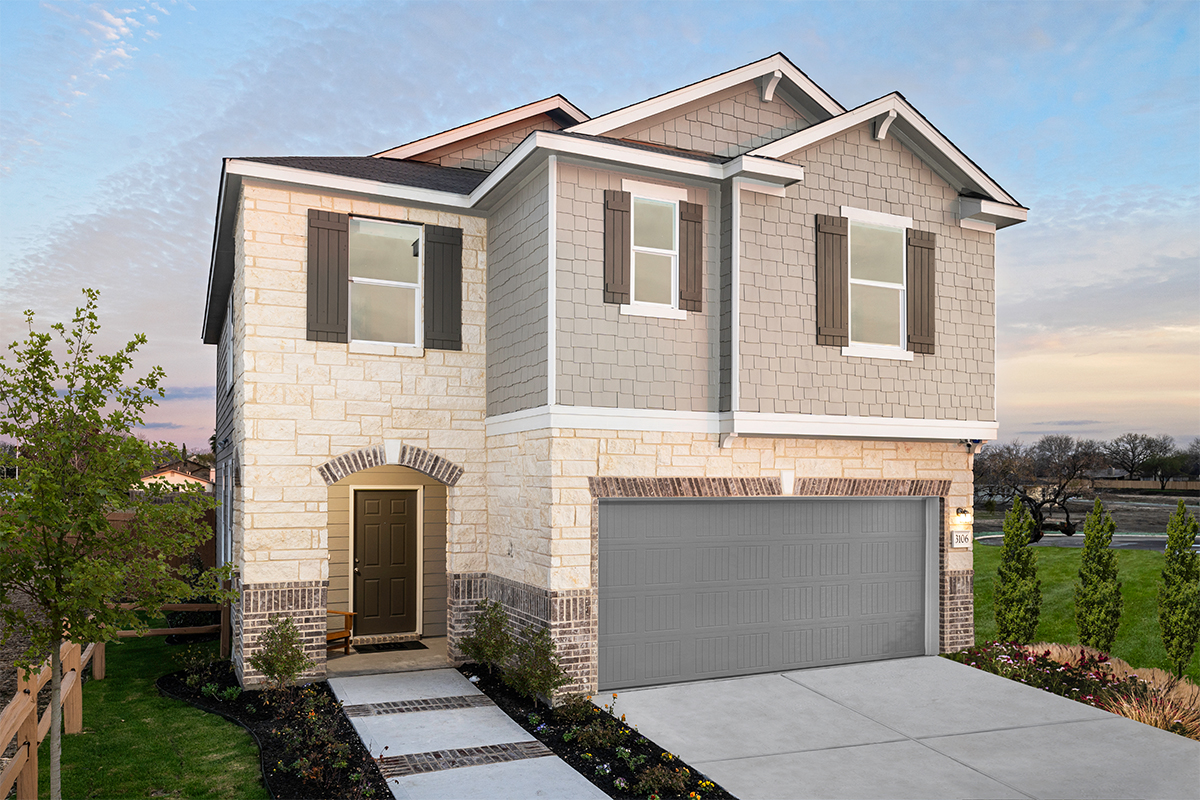 New Homes in San Antonio, TX - Stonegate The 2088