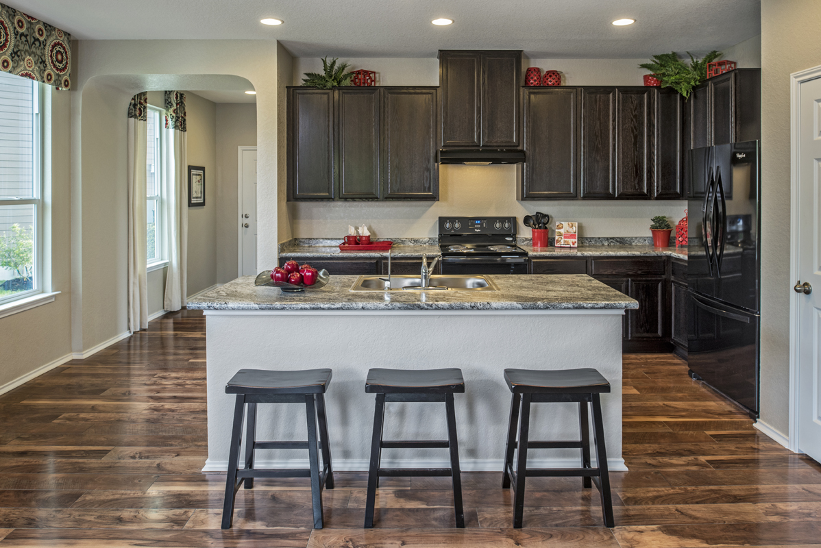 New Homes in San Antonio, TX - The Overlook at Medio Creek The 1892 Kitchen