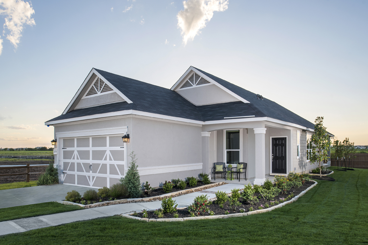 New Homes in New Braunfels, TX - West Village at Creekside - Heritage Collection The 1585