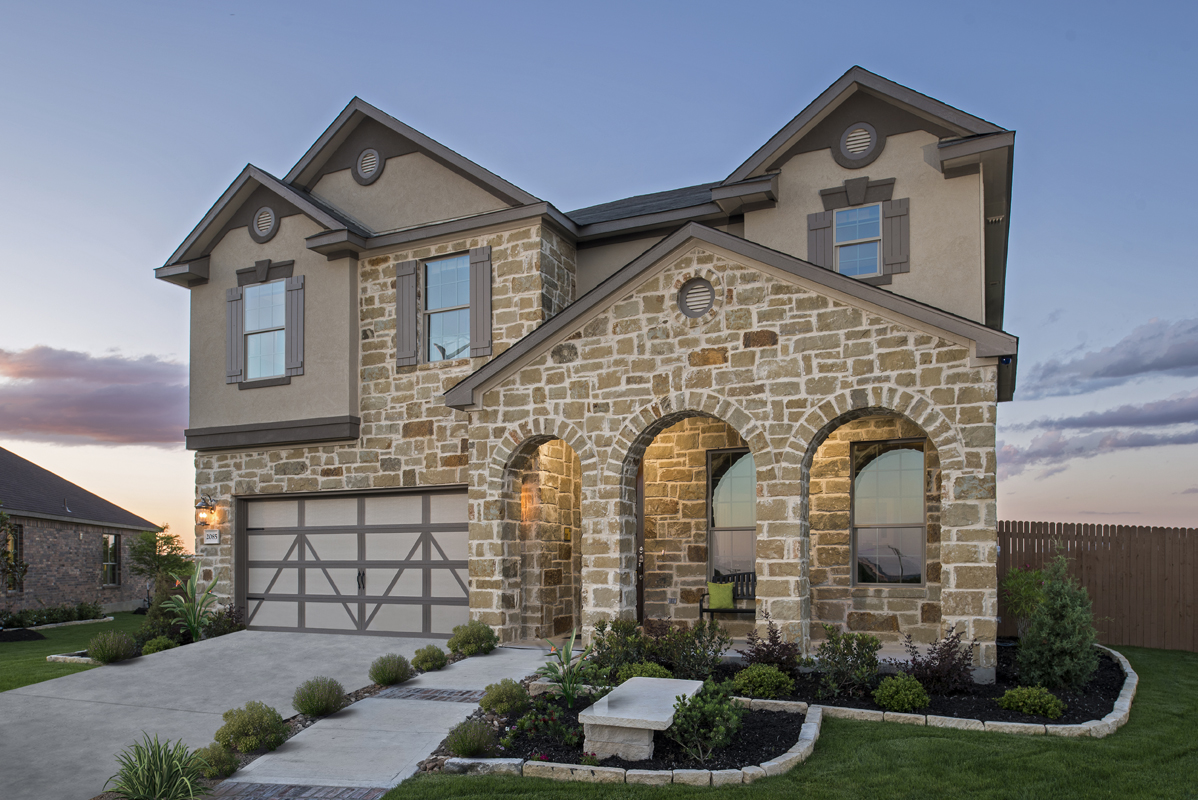 New homes for sale in new braunfels tx west village at for Modern homes in texas