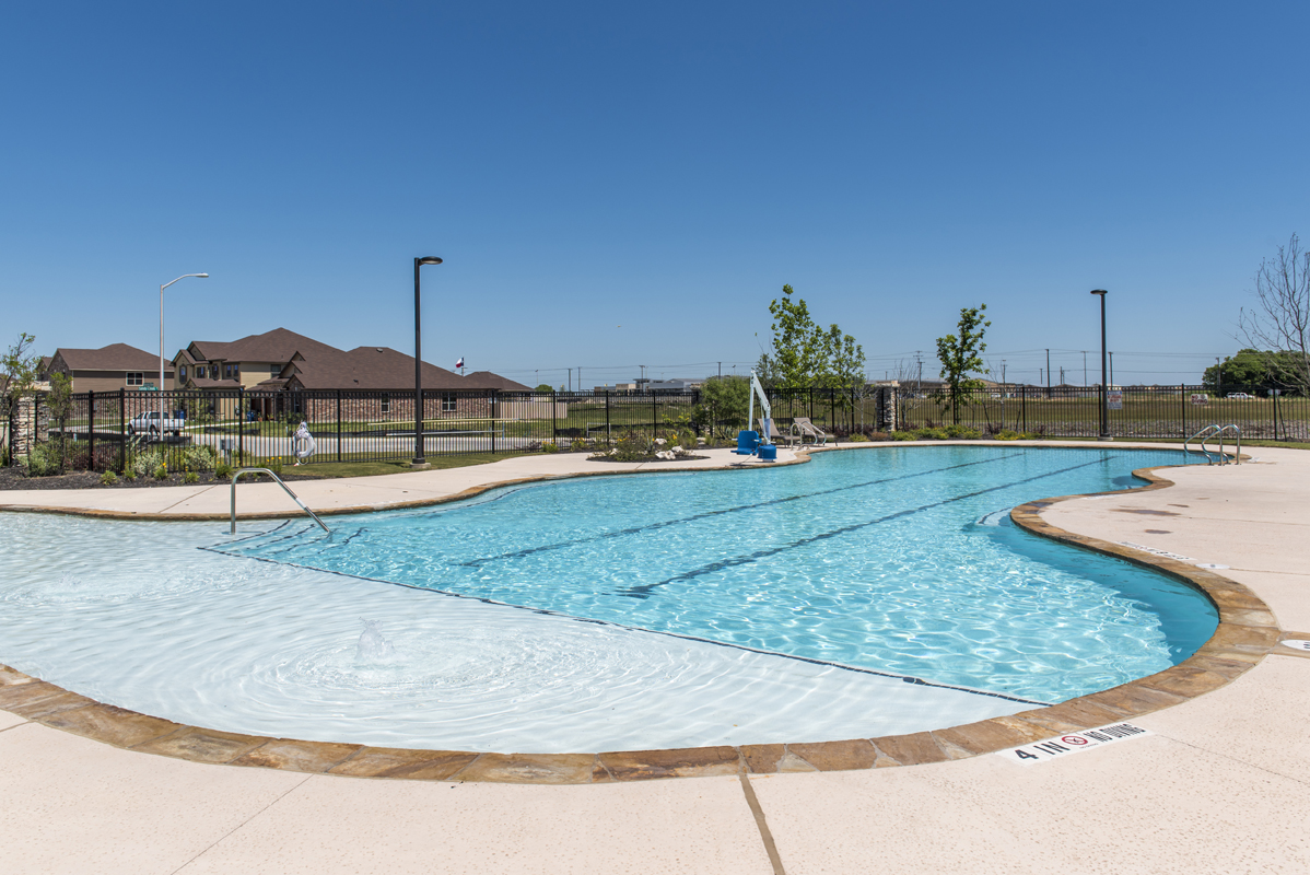 New Homes in New Braunfels, TX - West Village at Creekside - Heritage Collection Community Amenity Center