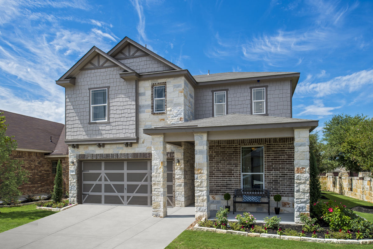 New Homes in Converse, TX - Plan 2403 Modeled
