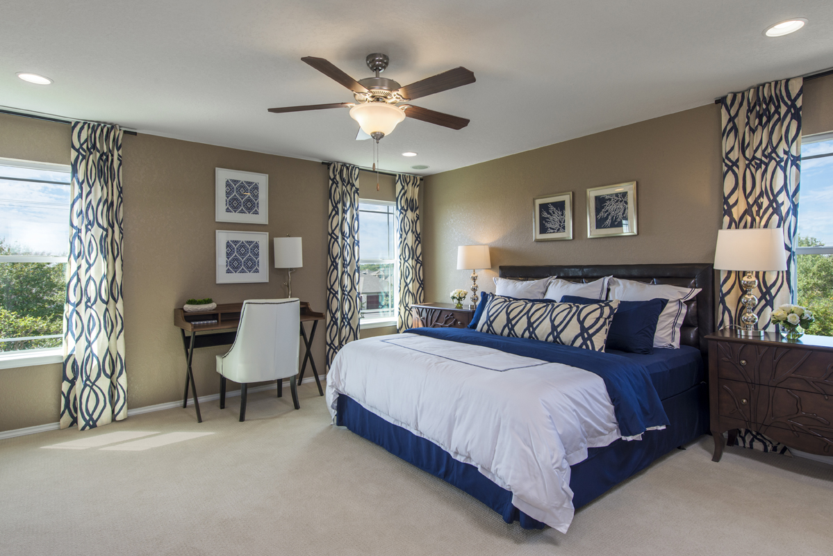 New Homes in Converse, TX - Windfield The 2403 Master Bedroom