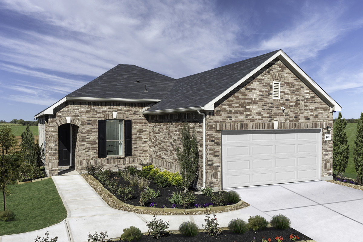 New Homes in Seguin, TX - Woodside Farms Plan 1516
