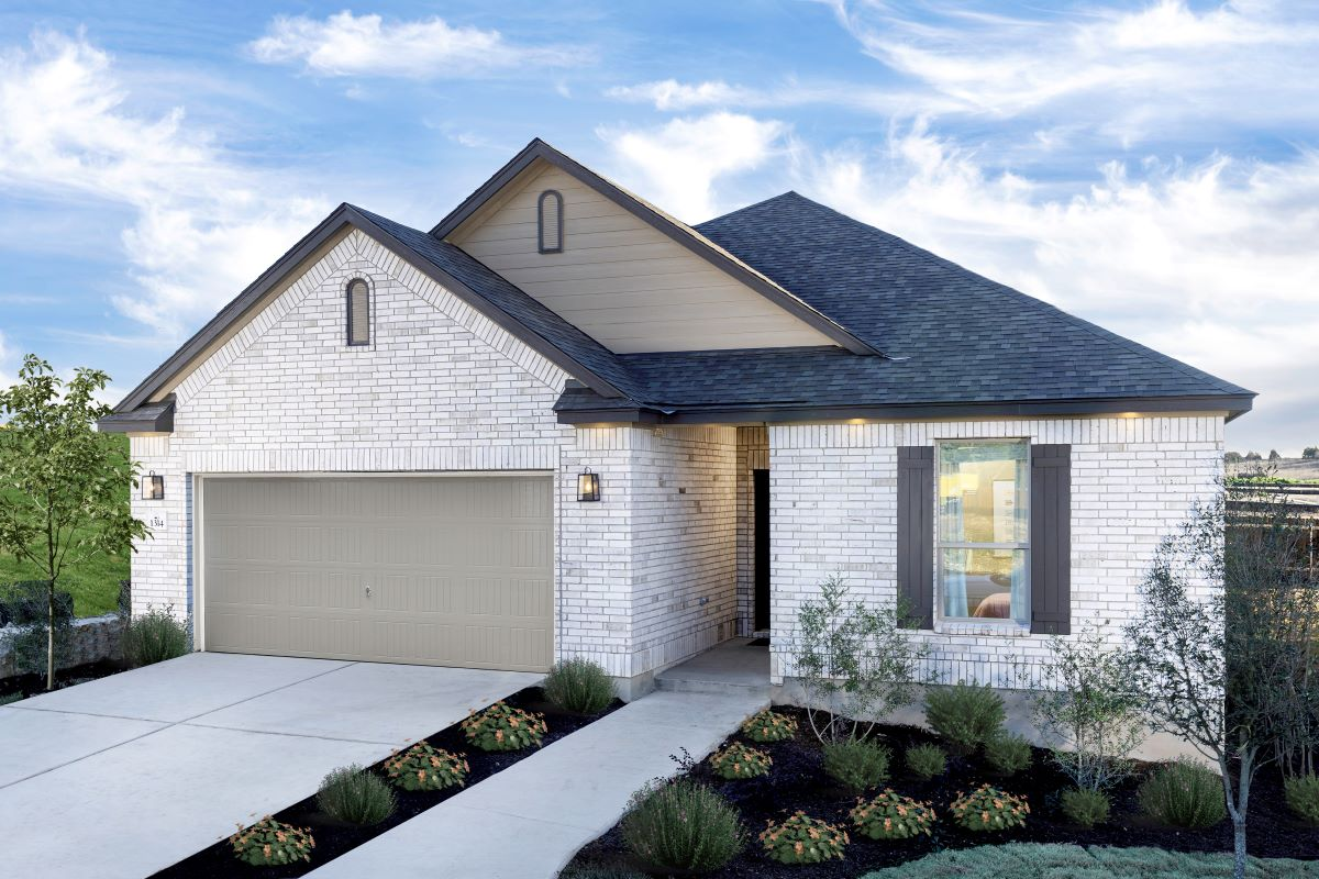 New Homes in Belton, TX - West Canyon Trails Plan 1675