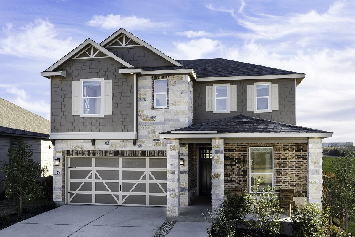 New Homes in Belton, TX - West Canyon Trails Plan 2403