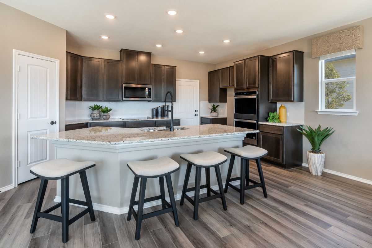 New Homes in Belton, TX - West Canyon Trails Plan 2403 Kitchen